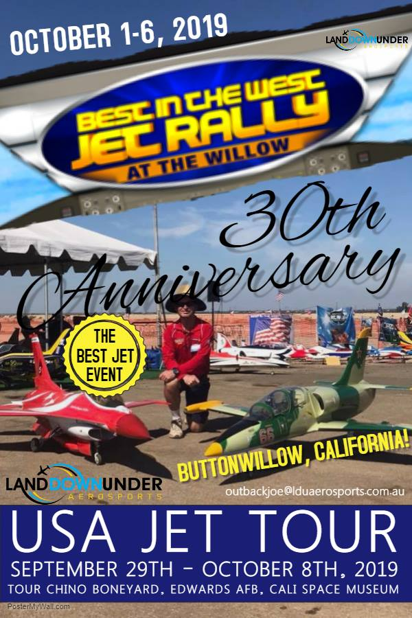 BEST IN THE WEST JET RALLY 30TH ANNIVERSARY, 2019 – Land